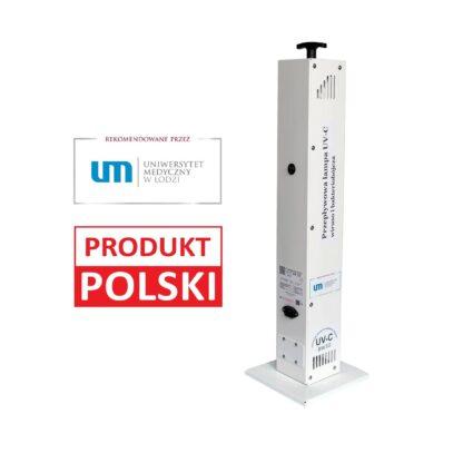 Lampa UV-C wirusobójcza BW50 – Produkt Polski